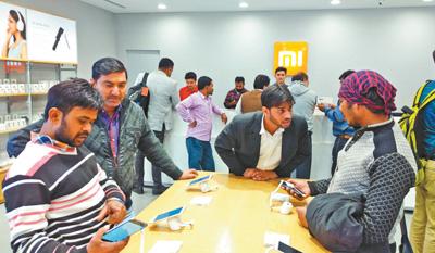 销售榜前十名九个为中国品牌 国产机在印度咋